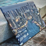 Skyline View Of Dubai Canvas Art