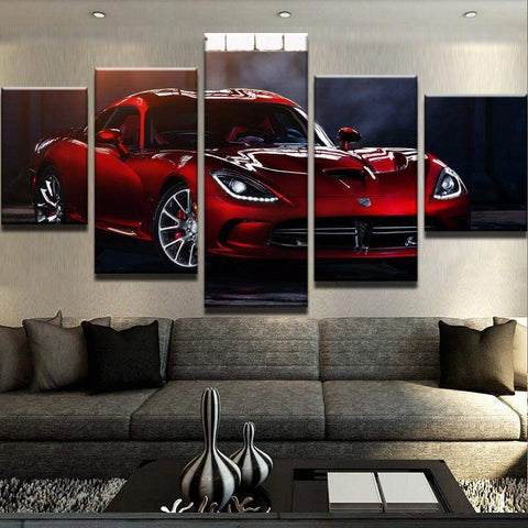 Dodge Viper Canvas Art