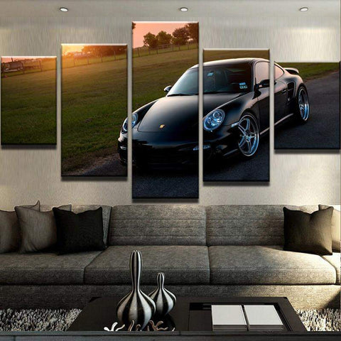 Porsche 911 Turbo Canvas Art