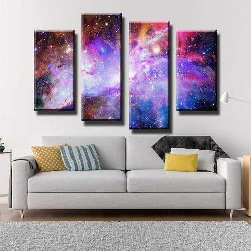 Nebula Galaxy Canvas Art