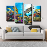 Under The Sea Canvas Art