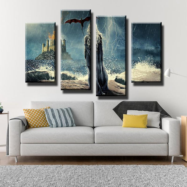 Game Of Thrones Tagaryen Canvas Art