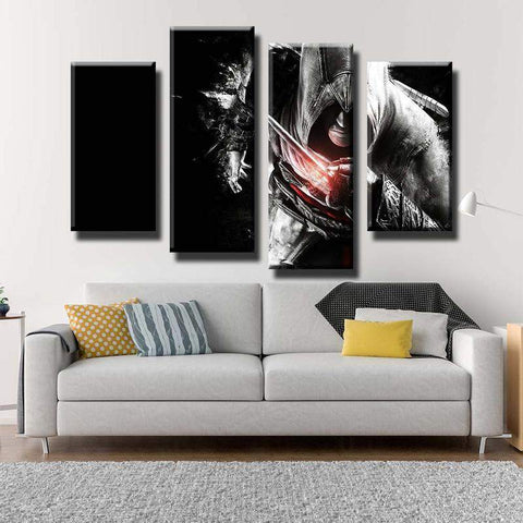Assassin's Creed Blade Canvas Art