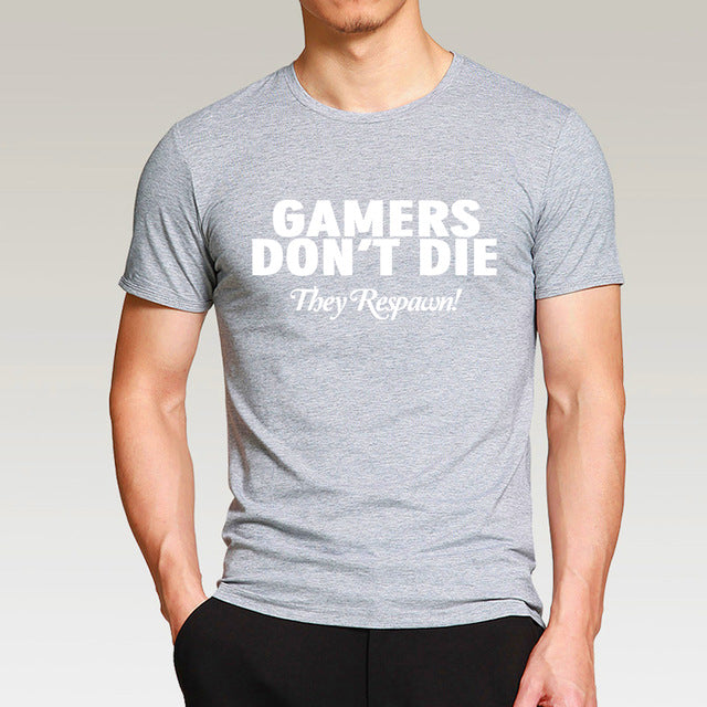 Gamers don't die T-shirt