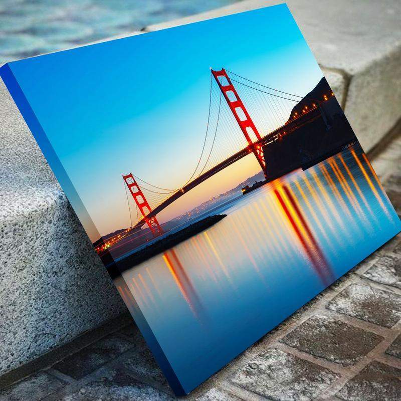 San Francisco Golden Gates Bridge Canvas Art