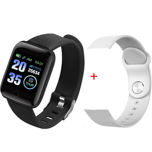 Smart Watch Men Women Smartband Blood Pressure Measurement Waterproof Fitness Tracker Bracelet Heart Rate Monitor Smartwatch
