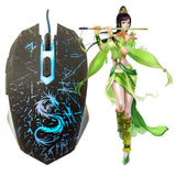 League of Legend and Dota 2 Inspired Gaming Mouse