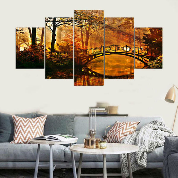 Frames Autumn Scenery Modernative - Mystikz Gaming
