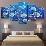 Underwater World Fishs Blue Goldfish - Mystikz Gaming