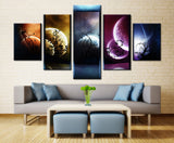 Venus Jupiter Mars Planet Mercury Starry Sky Art Art - Mystikz Gaming