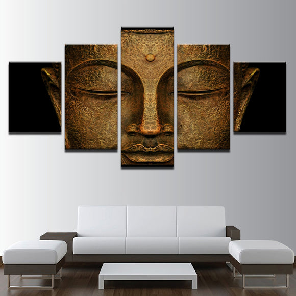 Buddhism Face Statue Of The Buddha - Mystikz Gaming