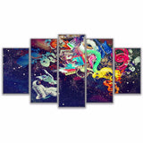 Astronauts Marvelous Travel Color Graffiti - Mystikz Gaming