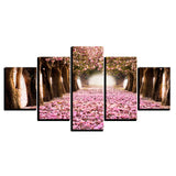 Cherry Blossoms Pink Flower Petal Tree - Mystikz Gaming