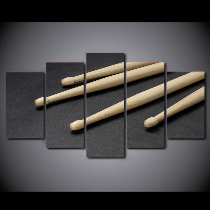 Wooden Drum Sticks Cuadros - Mystikz Gaming