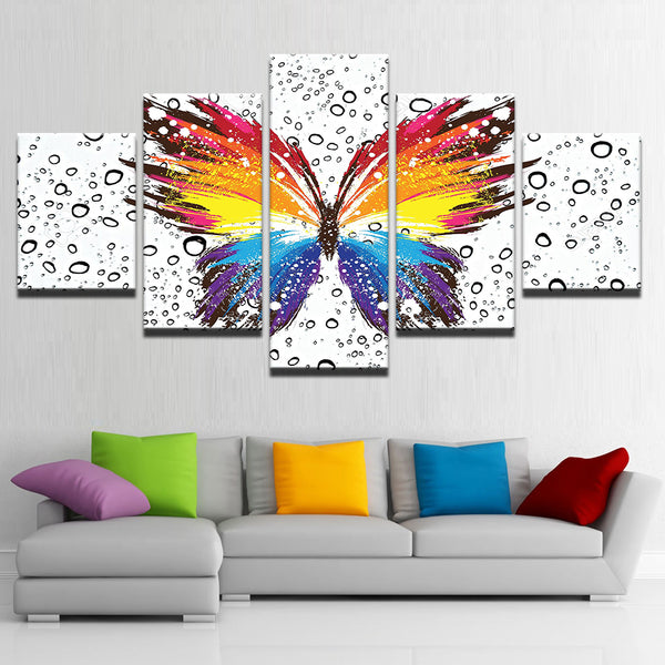Butterfly Colorful Pattern Insect - Mystikz Gaming