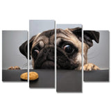 Lovely Dog Face Animal Pug - Mystikz Gaming
