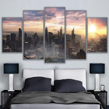 Chicago Cityscape Sky View City Sunrise Landscape - Mystikz Gaming