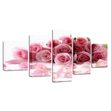 Pink Roses Bouquet Flowers Petal - Mystikz Gaming