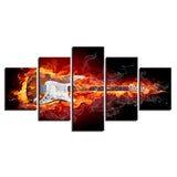 Burning Guitar Rock Electric Music - Mystikz Gaming