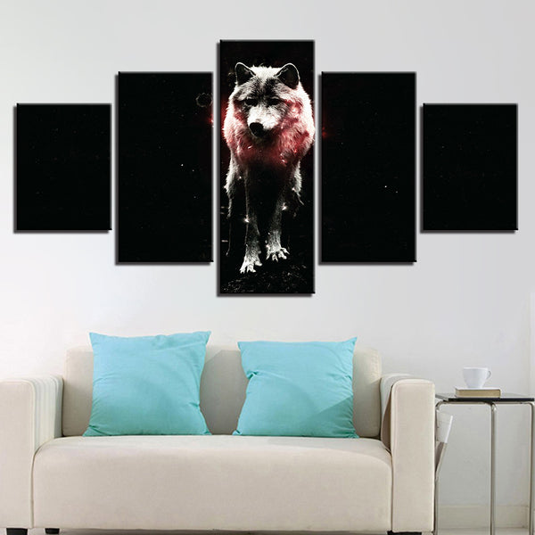 Abstract Animal Wolf - Mystikz Gaming