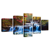 Forest Lake Waterfall Scenery Tree Flower Swan - Mystikz Gaming