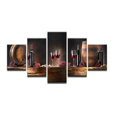 Kitchen Grape Rwine Glasses Oak Barrel Restaurant - Mystikz Gaming