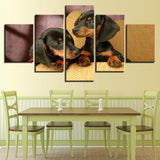Posters Dachshund Dogs Bre - Mystikz Gaming