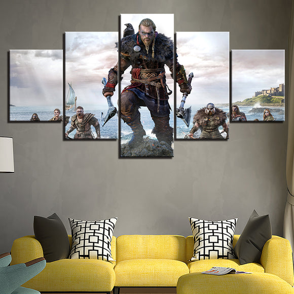 Assassin's Creed Valhalla Eivor Canvas Art