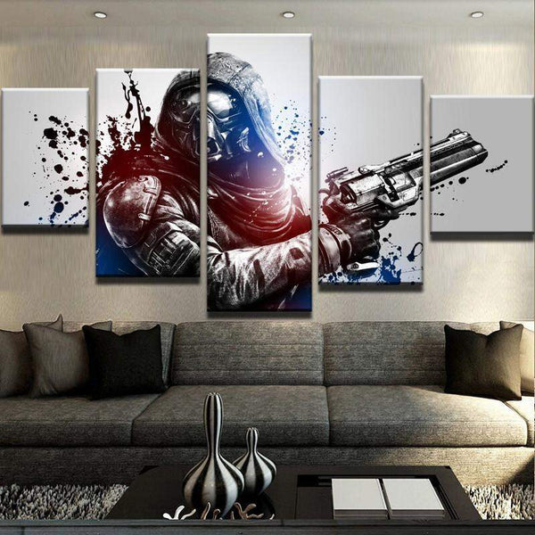 Destiny Soldier Canvas Art