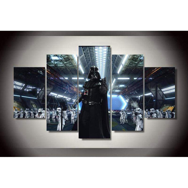 Star Wars Darth Vader And His Clone Trooper Army