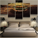 The One Ring Lord of the Rings Canvas Art