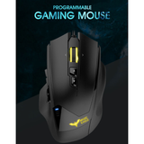 Havit 12000DPI 19 Button Professional Gaming Mouse