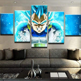 Vegeta Dragon Ball Z Canvas Art