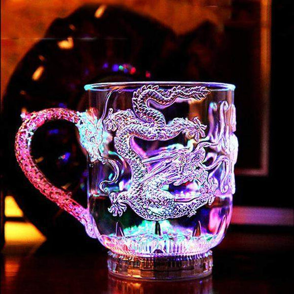 LED Dragon Beer Mug