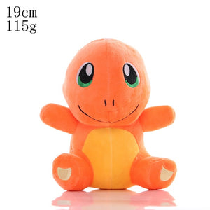 Charmander Bulbasaur Squirtle Pikachued Cartoon plush toys pokemoned Eevee Snorlax Gengar Jigglypuff Stuffed doll gifts for kid