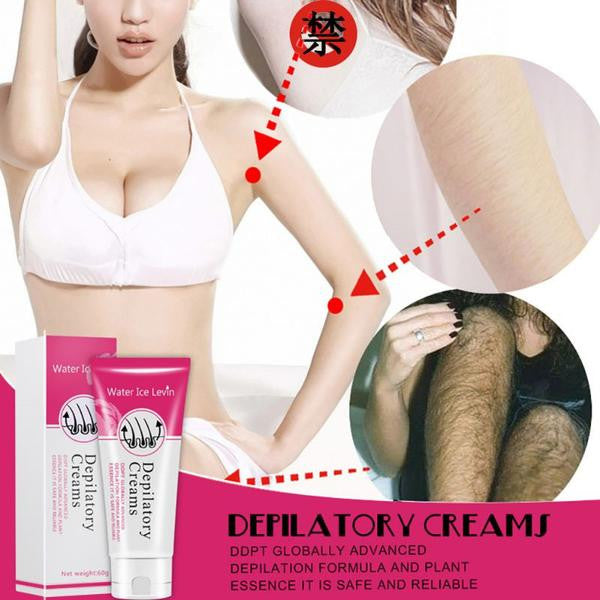 Painless Depilatory Cream Hair Removal Men And Women