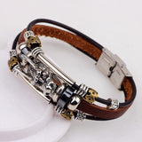 Leather Dragon Bracelet