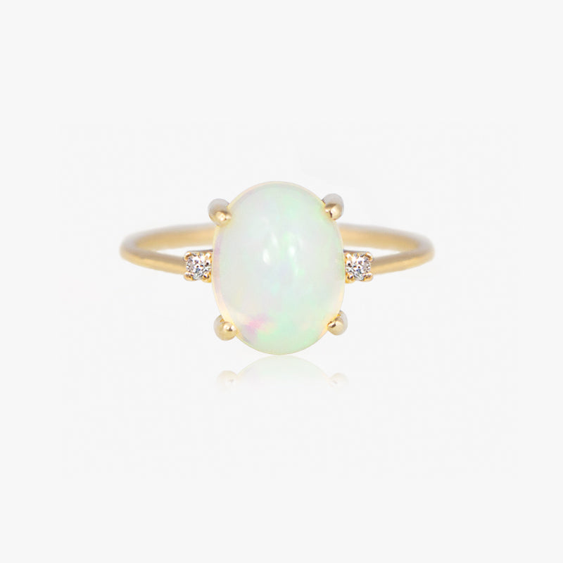 opal diamond ring by jamie park jewelry