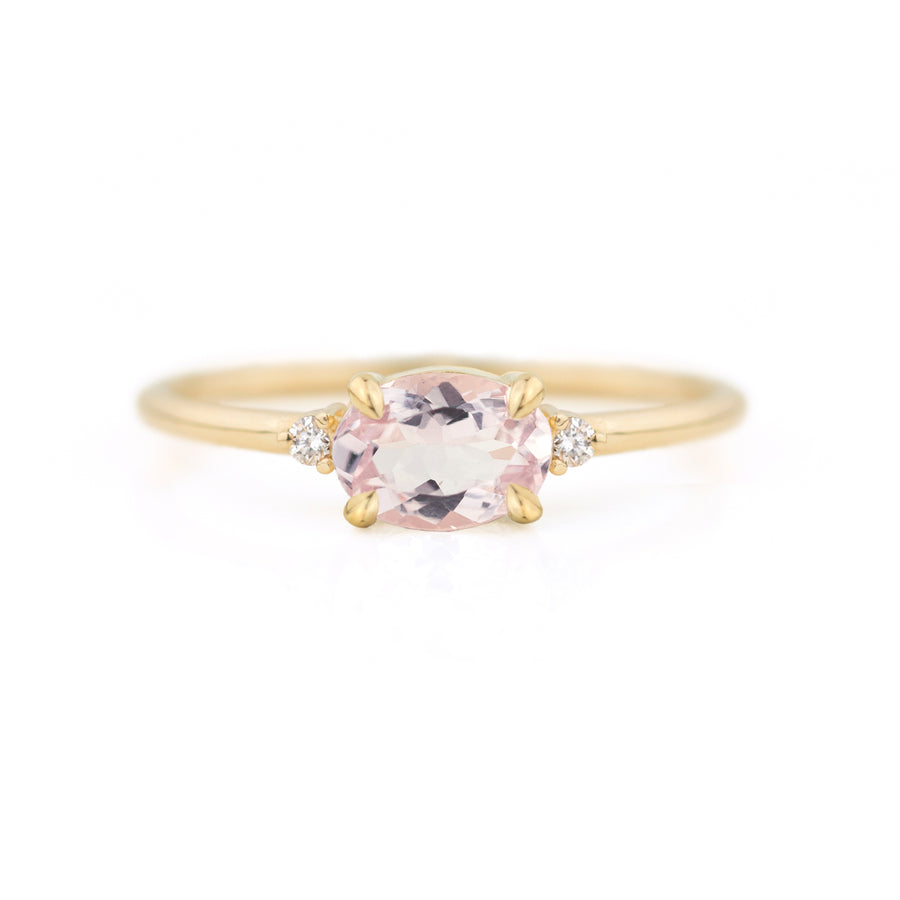 Ella Morganite Ring