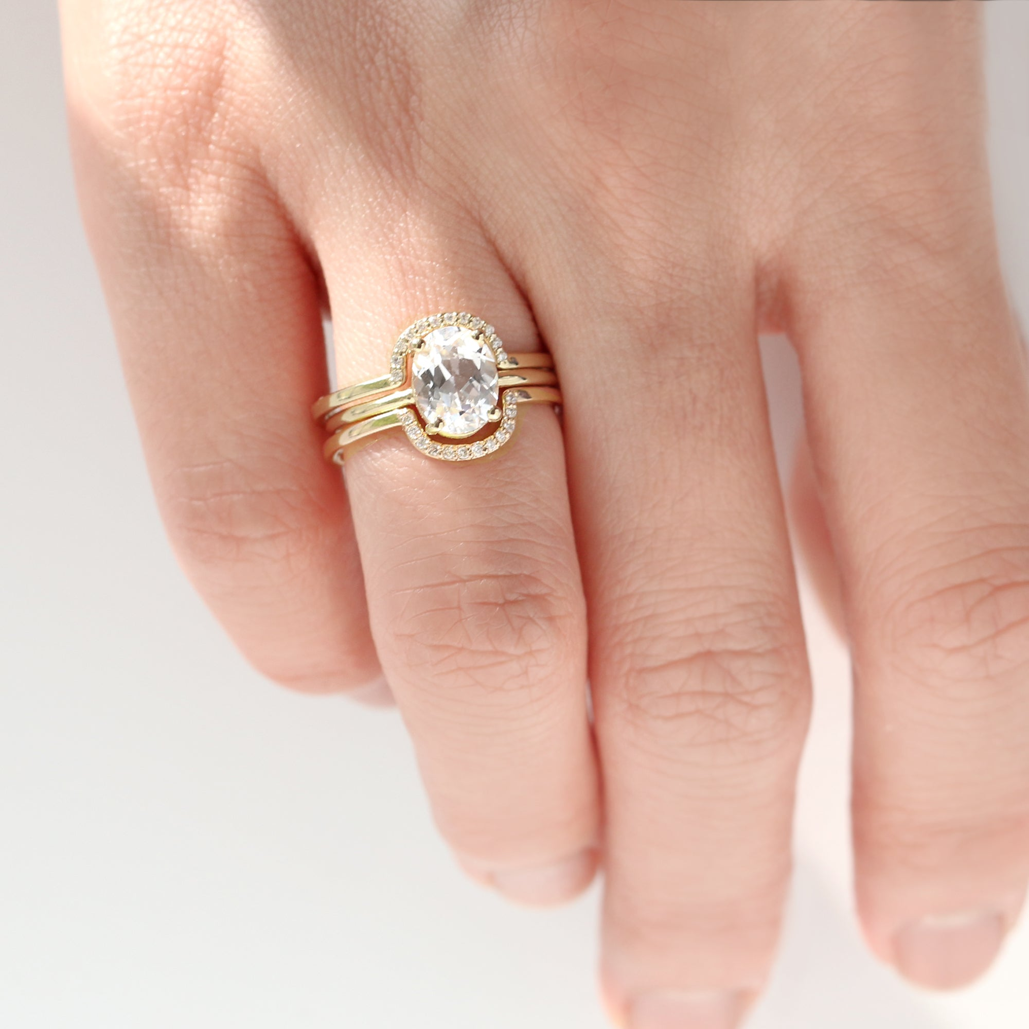 Diamond Deep Curve Ring | Jamie Park Jewelry