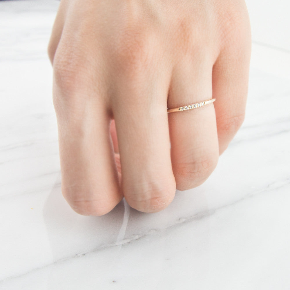 Diamond Ray Ring by Jamie Park jewelry