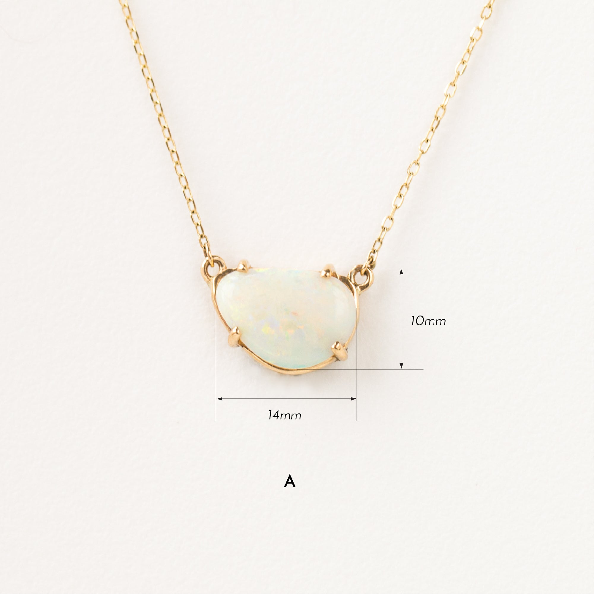 Freeform Opal Necklace