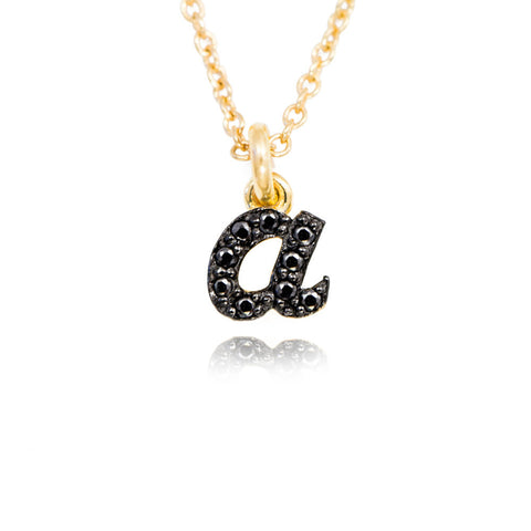 Alphabet A Personalized Name Necklace