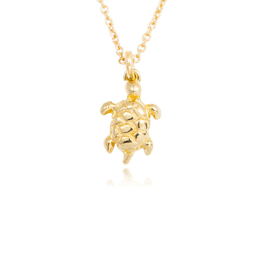 Turtle Necklace at Jamie Park Jewelry, Handmade in USA