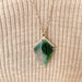 Shield Cut Ocean Jasper Necklace, Jamie Park Jewelry