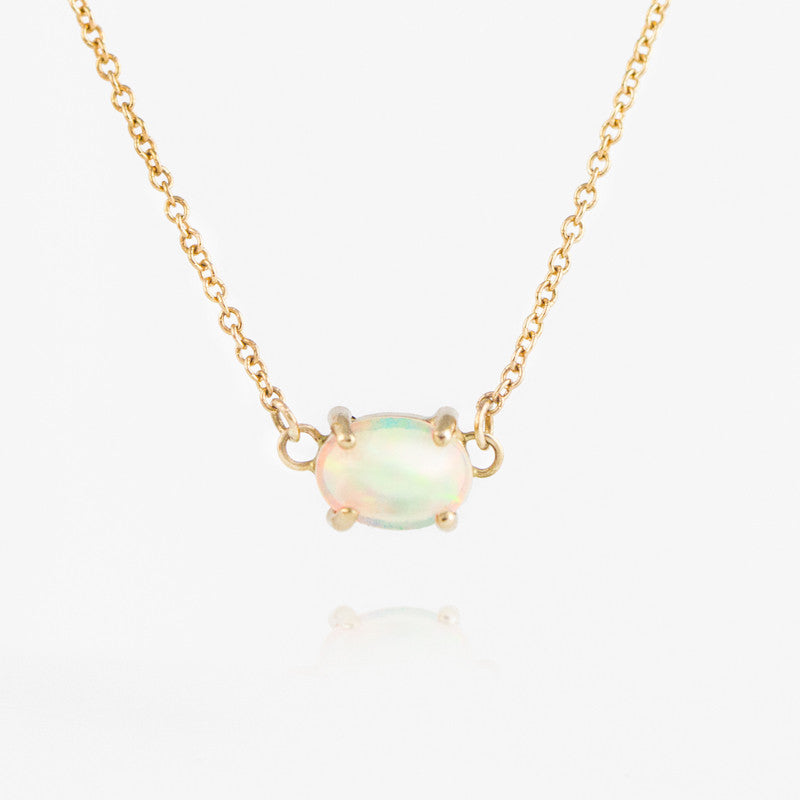 Opal Necklace by Jamie Park Jewelry