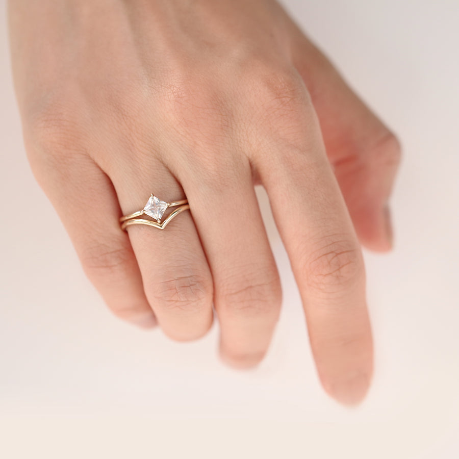 Chevron Ring by Jamie Park Jewelry