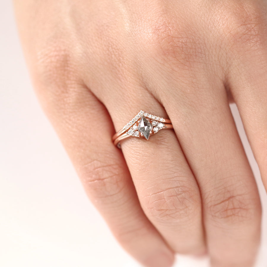 Sienna Rose Cut Diamond Ring