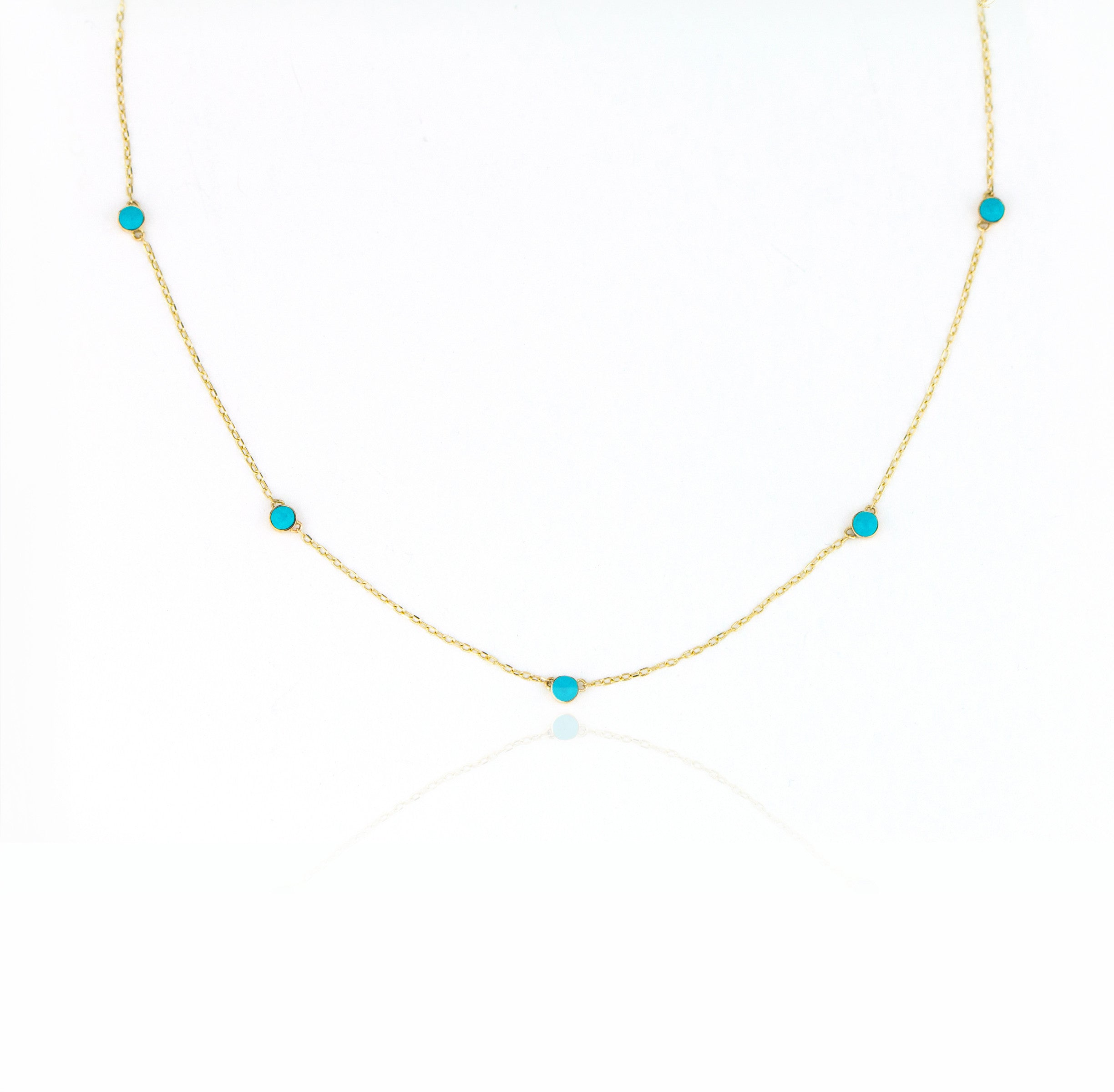 Turquoise Necklace by Jamie Park Jewelry