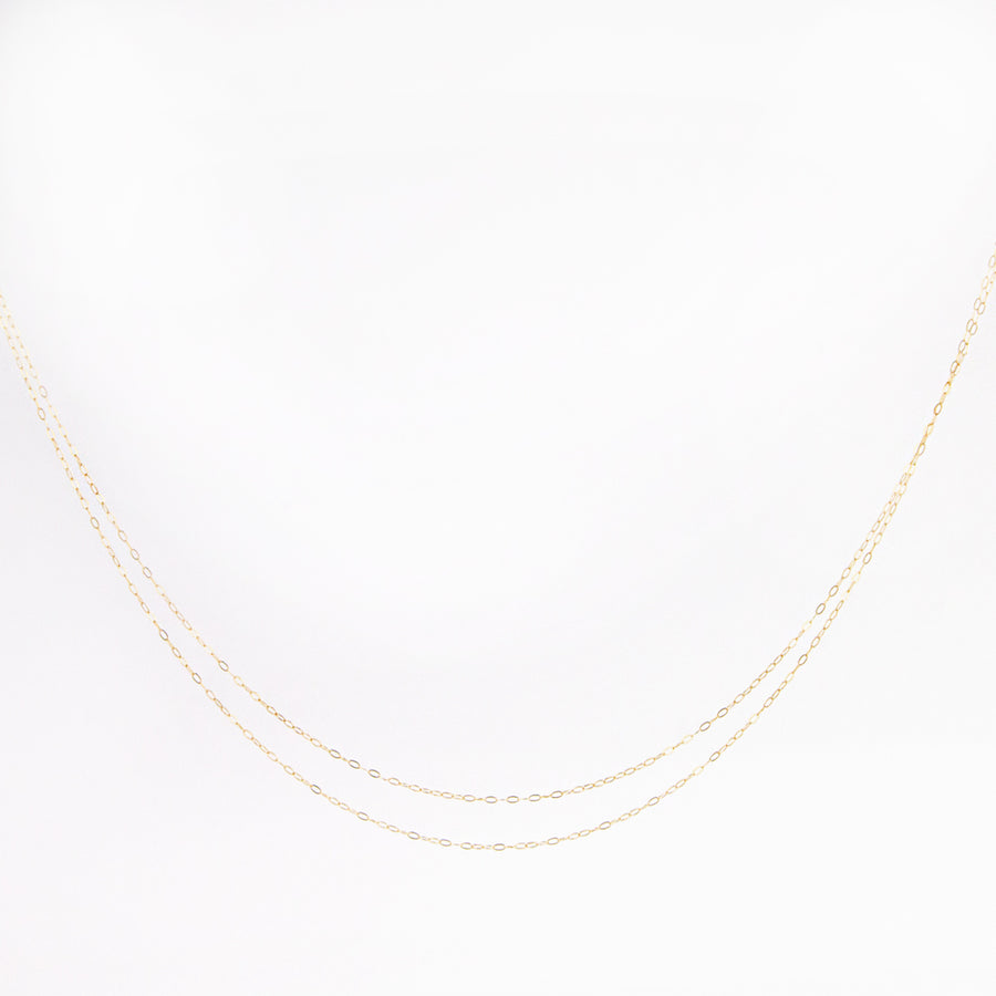 Fine Double Strand Necklace